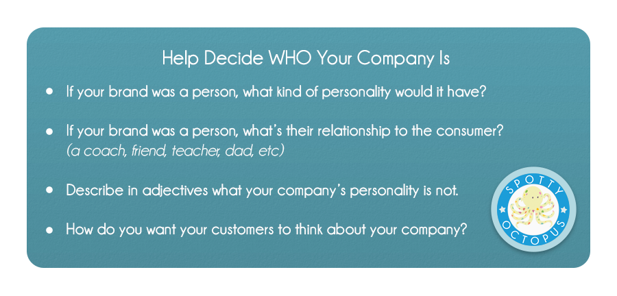Help Decide WHO Your Company Is
